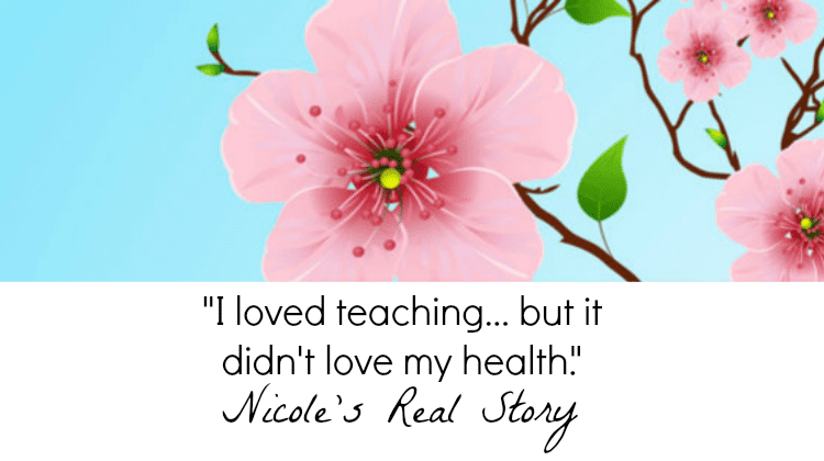 "Nicole of Simply Eve Fragrance's Real Story: ""I loved teaching, but it didn't love my health."""